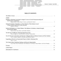 Journal of Marketing Education